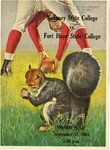 1964 Homecoming Football Game Program by Kearney State College