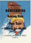 1951 Homecoming Football Game Program