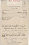Agenda for 1941 Homecoming Convocation