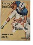 1961 Homecoming Football Program