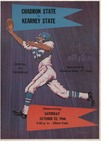 1966 Chadron State College Homecoming Football Game Program