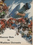 1969 Homecoming Football Game Program by Kearney State College