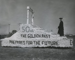 1955 Homecoming Float Celebrating the Golden Anniversary
