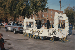 Mantor Hall Float from Homecoming 1985