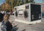 NHEA & Industrial Tech Float from Homecoming 1985 by Kearney State College
