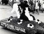 1960 Homecoming Parade Float