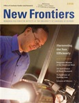 New Frontiers 2008-2009 by University of Nebraska at Kearney Office of Graduate Studies and Research