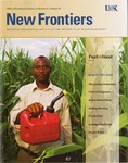 New Frontiers 2010-2011 by University of Nebraska at Kearney Office of Graduate Studies and Research