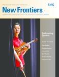New Frontiers 2012-2013 by University of Nebraska at Kearney Office of Graduate Studies and Research