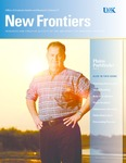 New Frontiers 2013-2014 by University of Nebraska at Kearney Office of Graduate Studies and Research