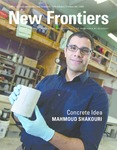 New Frontiers 2019-2020 by University of Nebraska at Kearney Office of Graduate Studies and Research