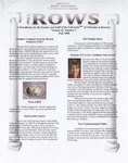 The Rows: A NewsBrake for the Faculty and Staff