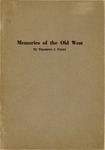 Memories of the Old West by Thaddeus J. Foley